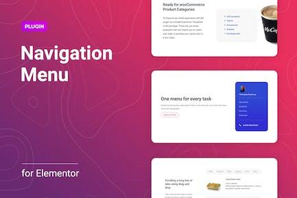 Navigation Menu for Elementor