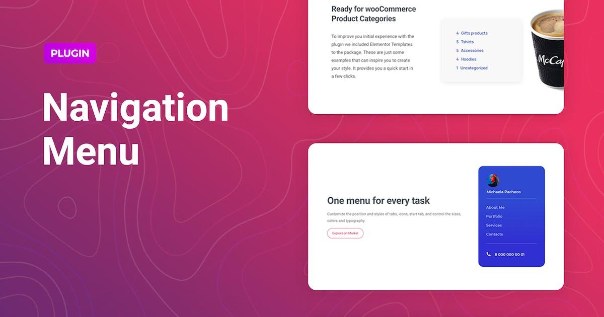Download Navigation Menu for Elementor by merkulove