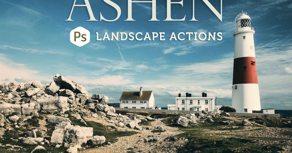 Download Ashen Landscape Photoshop Actions by Presetrain