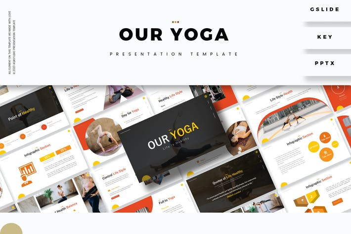 Our Yoga - Presentation Template