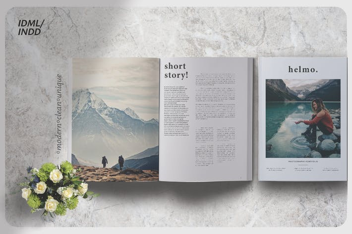 Thumbnail for Helmo Photography Lookbook
