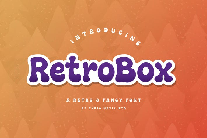 Thumbnail for Retrobox Retro Fancy Font