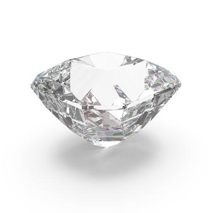 Brillant geschliffener Diamant