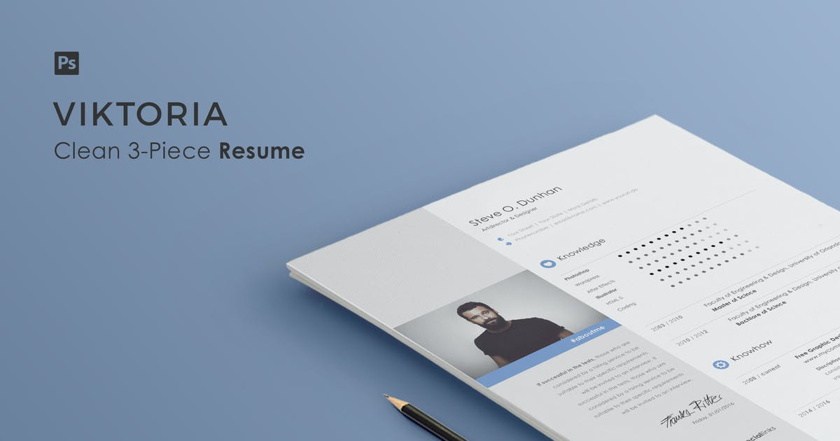 Download Resume | Viktoria by Haluze