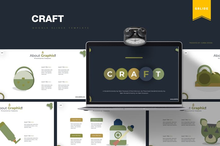 Thumbnail for Craft | Google Slides Template