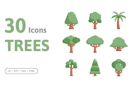30 Trees Icons