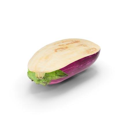 Graffiti Eggplant Cut