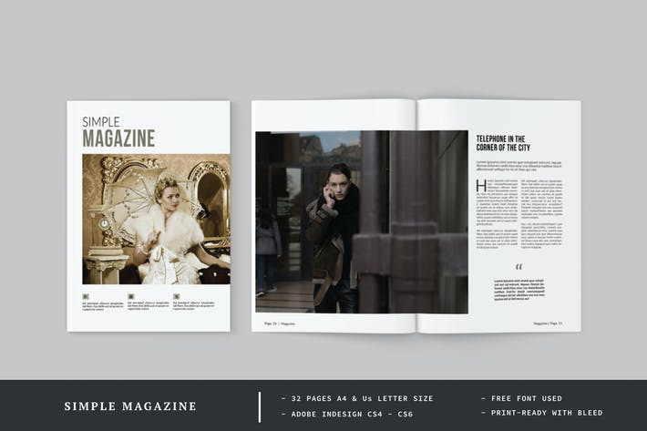 Thumbnail for Magazine simple