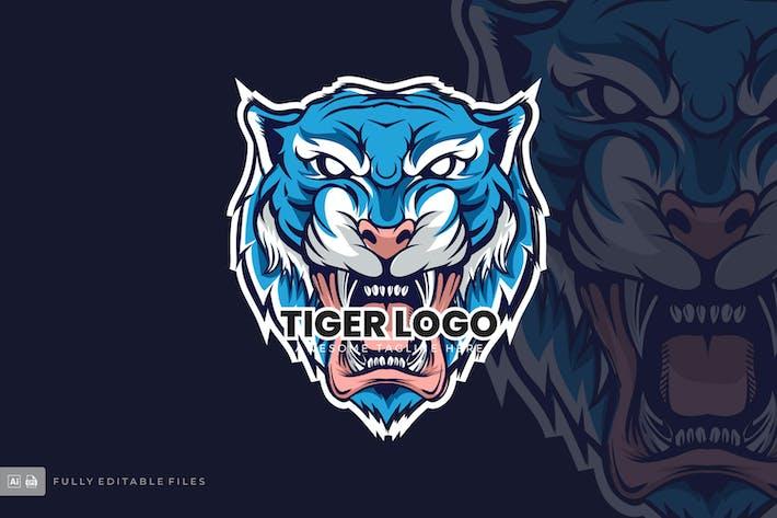 Thumbnail for TIger Logo Template
