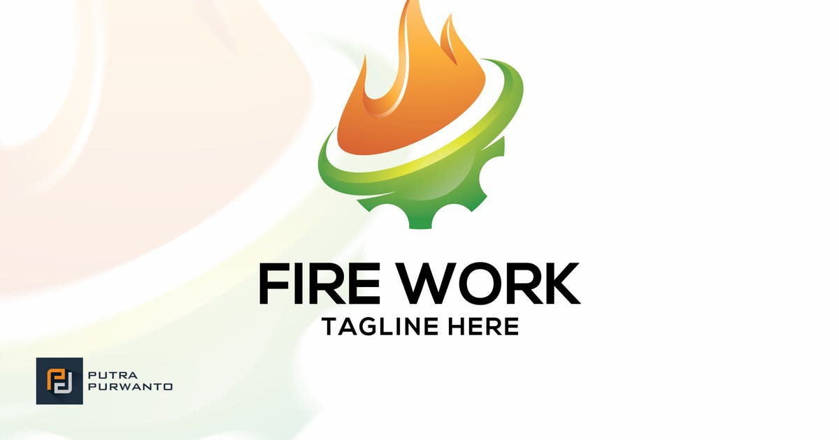Download Fire Work - Logo Template by putra_purwanto