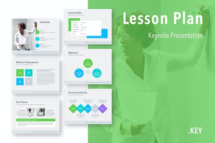 Thumbnail for Lesson Plan Keynote Template