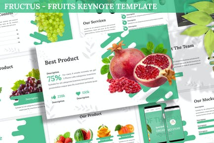 Fructus - Fruits Keynote Template