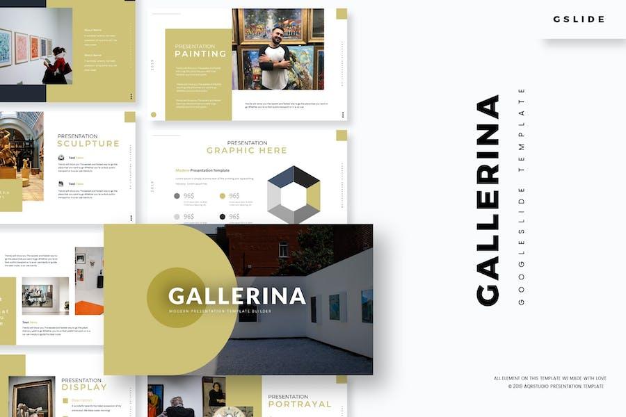 Gallerina - Google Slides Template