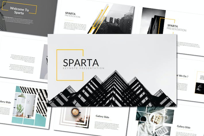 Thumbnail for Sparta Minimal | Keynote Templates