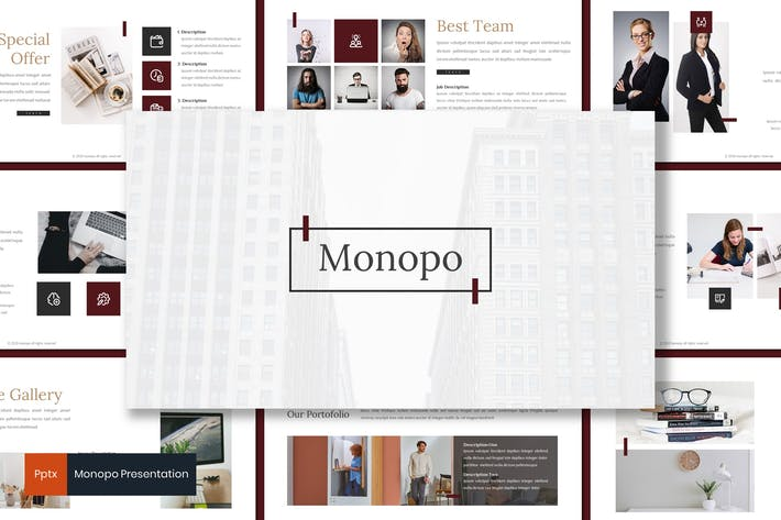 Thumbnail for Monopo - Business Powerpoint Template