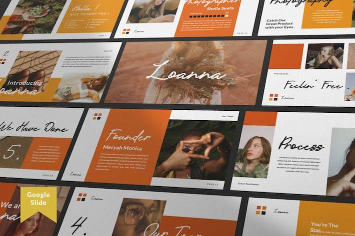Thumbnail for Loana Brand Google Slide