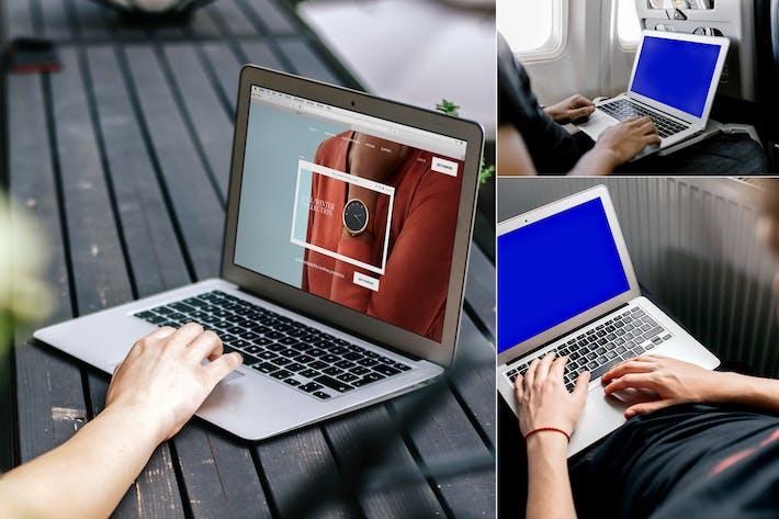 Thumbnail for Macbook Air Mockup