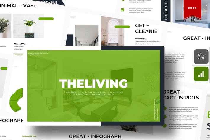 Thumbnail for The Living | Powerpoint Template