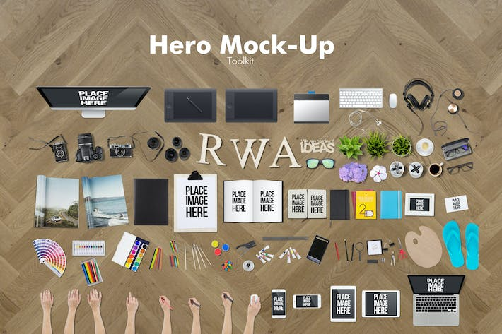 Thumbnail for Hero Mockup Toolkit