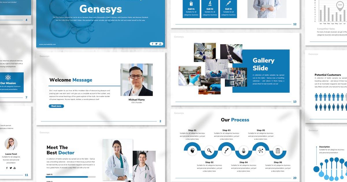 Download Genesys - Scientist Powerpoint Template by designesto