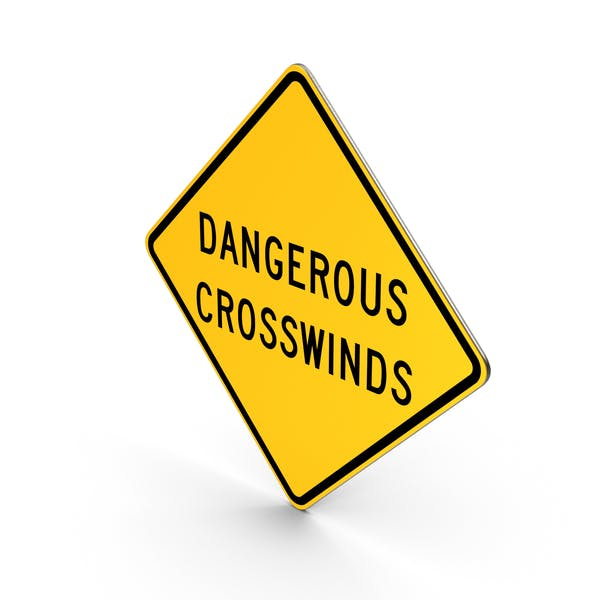 Thumbnail for Dangerous Crosswinds New Mexico Road Sign