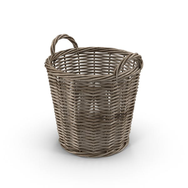 Cover Image for Wicker Basket