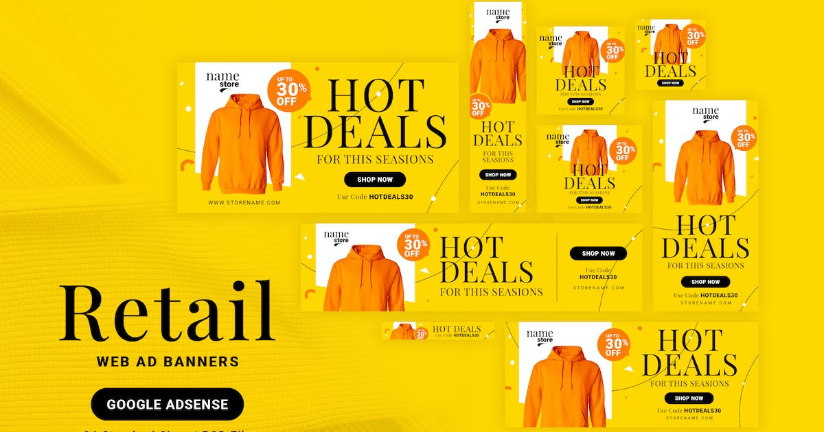 Download Retail Web Ad Banners by webduck
