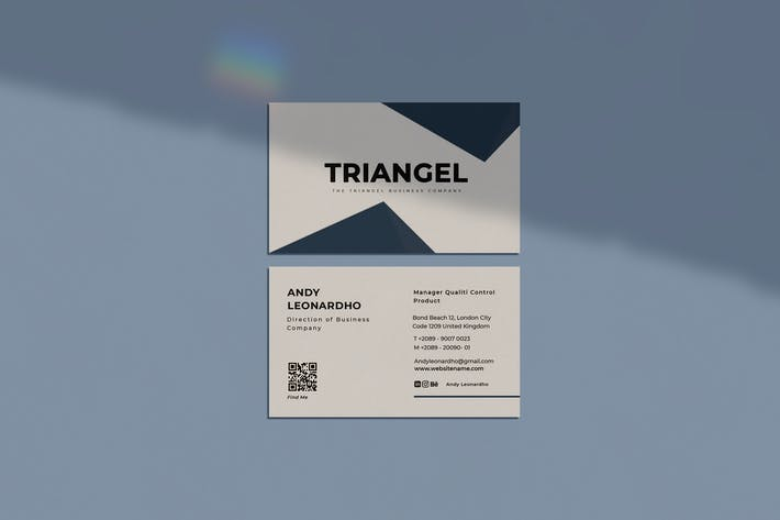 Thumbnail for Triangle Business Card