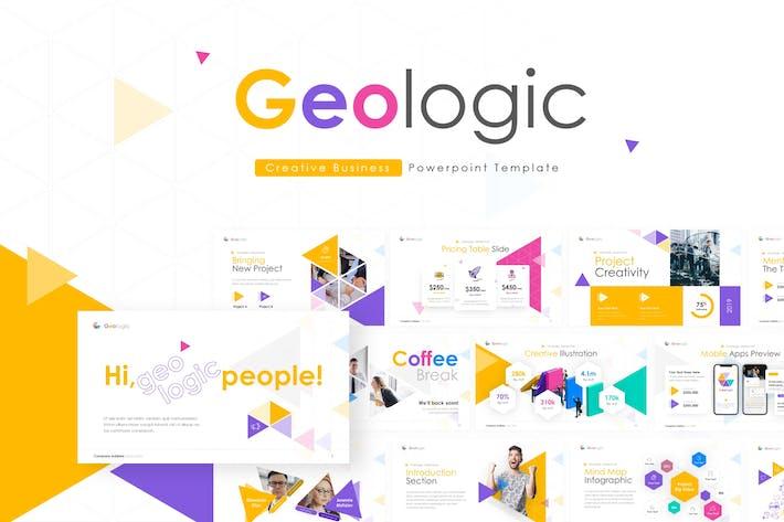 Geologic Multipurpose PowerPoint Presentation