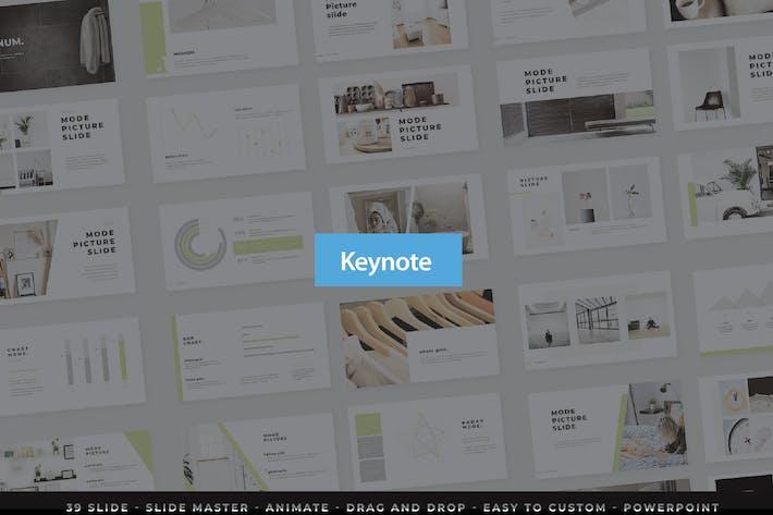 Thumbnail for Keynote презентации Magnum