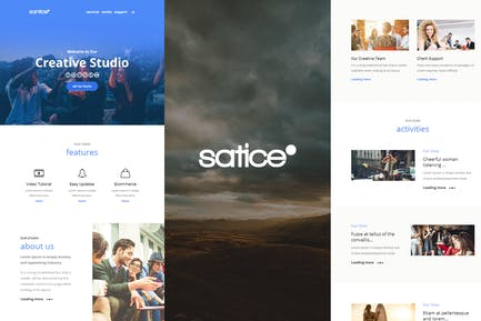 Santice Mail- Responsive E-mail Template