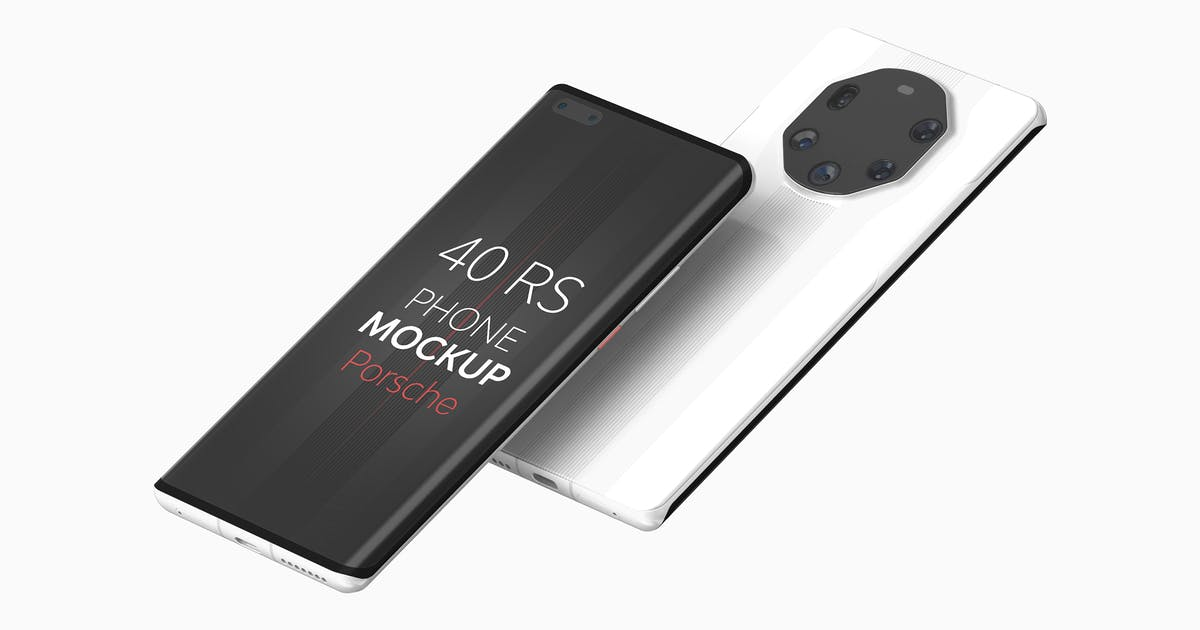 Download 40 RS Phone Mockup by UnicDesign