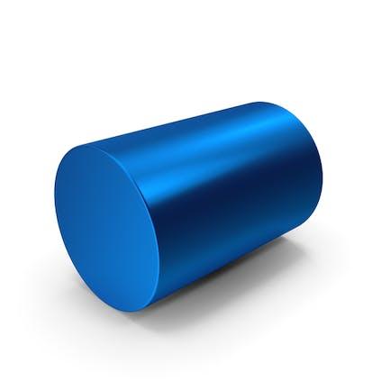 Blauer Zylinder