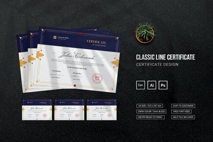 Classic Line - Certificate