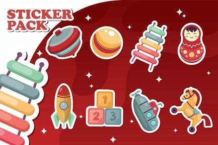 Toys Stickers