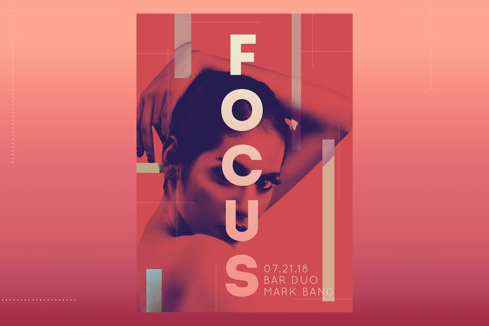 Thumbnail for Focus Flyer Poster