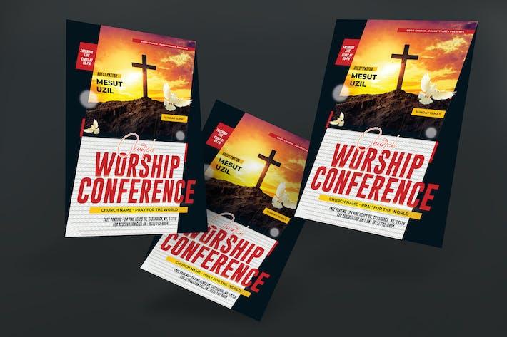Thumbnail for Affiche de la Conférence de l'Église