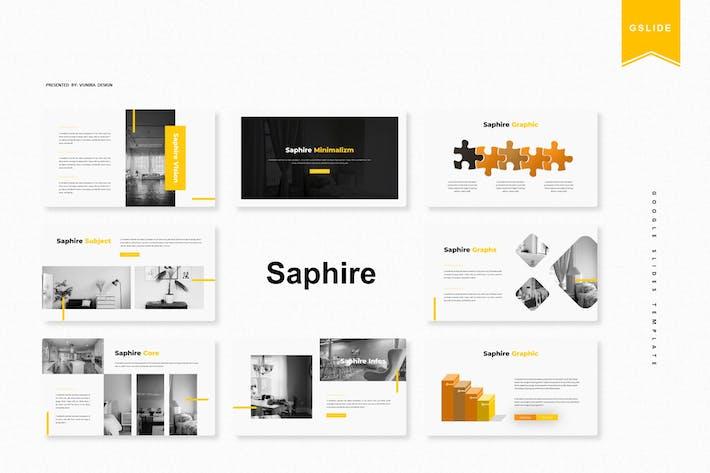 Thumbnail for Saphire | Google Slides Template