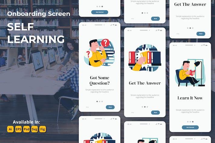 Thumbnail for E-Learning Ausbildung Studie Oboarding-Bildschirme
