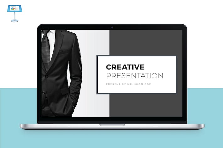 Thumbnail for CREATIVE - Multipurpose Keynote Template V37