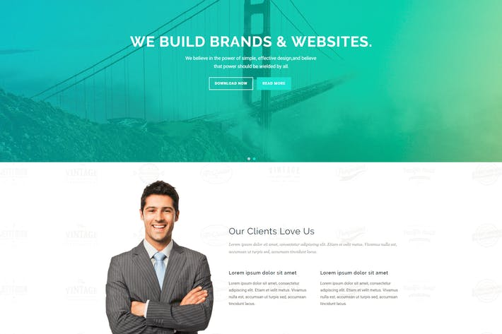 Thumbnail for Carina - Creative Multipurpose Drupal 8 Template
