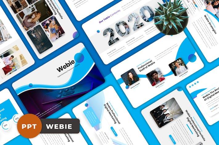 Webie - Digital Marketing Powerpoint Templates