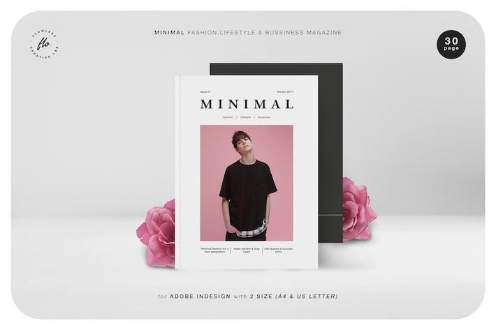 Thumbnail for Minimal Fashion & Business Magazine