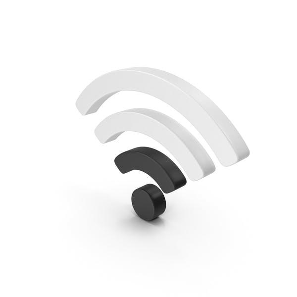 Низкий символ Wi-Fi