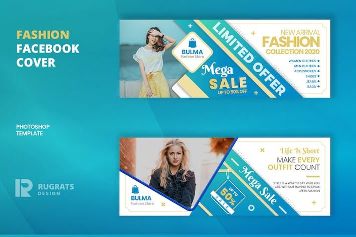 Thumbnail for Fashion R9 Facebook Cover Template