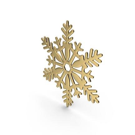 Золото Снежинка