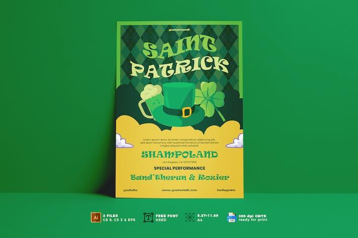 Dépliant de la Saint-Patrick Vol. 01