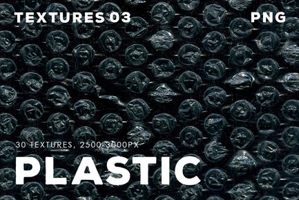 30 Plastic Texture Overlays | 03