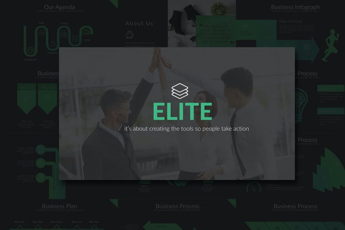 Thumbnail for Elite Business Powerpoint