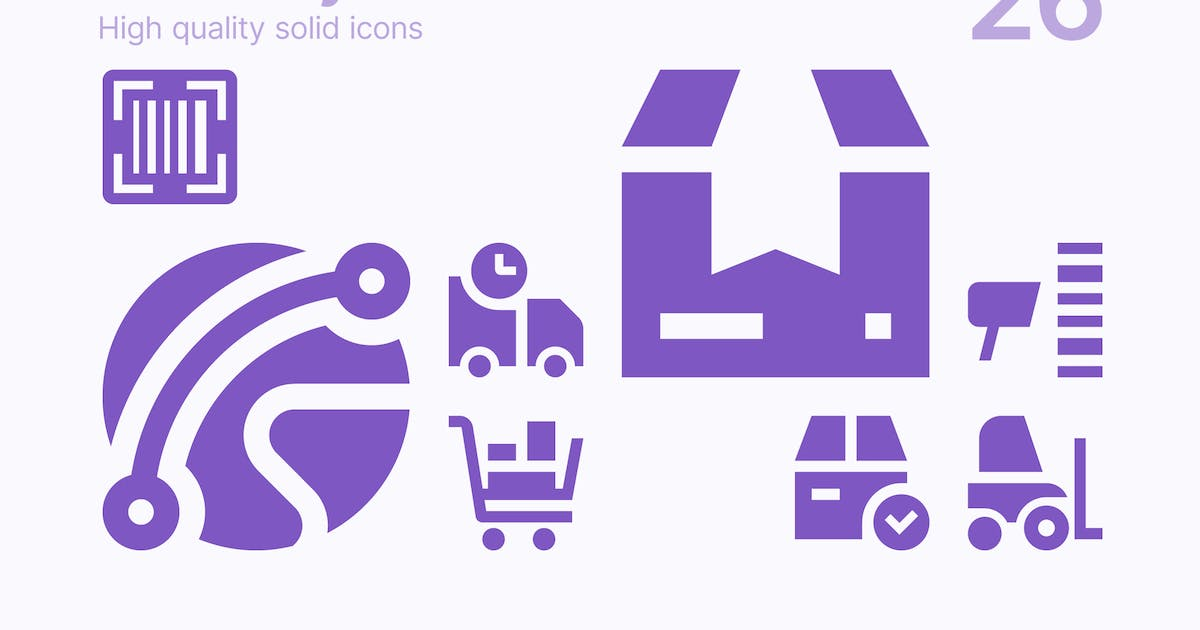 Download Delivery Icons by polshindanil
